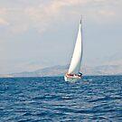 Sailing between Corfu and Albania by dunawori
