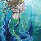 Mermaids in love by Wendy Crouch