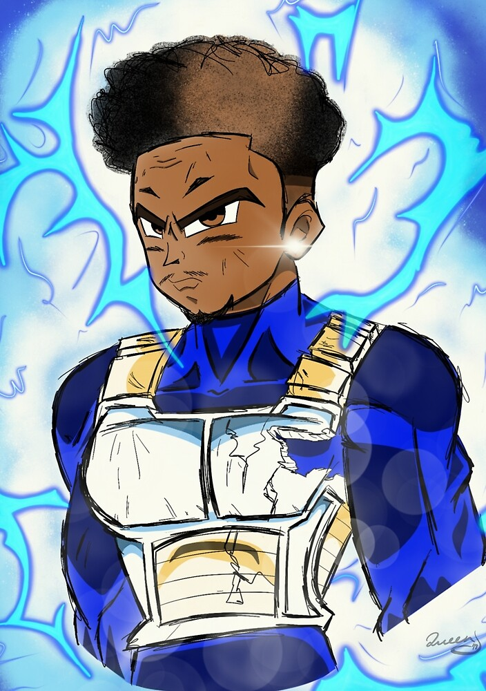 DBZ Commision by Unapolygetic