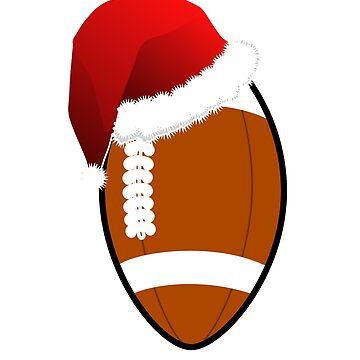 Football Christmas gift Christmas present by NadjaDesigns