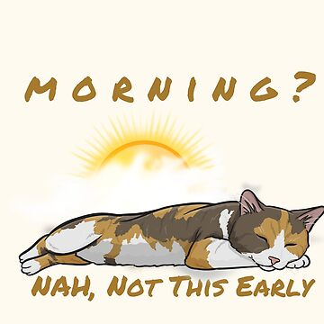 Calico cat sleeping through morning by DAscroft