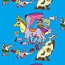 Sleiptaur Pokemon Diagram by BooRat