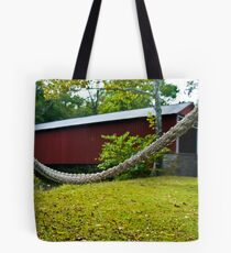 The Hammock by the Bridge Tote Bag