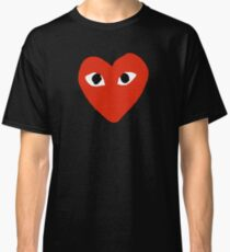 Comme des garçons Red Heart Play Classic T-Shirt