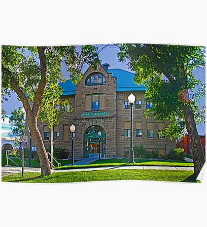 WHEATLAND COUNTY COURTHOUSE Poster