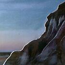 Mungo lunette landscape at sunrise by npdesign