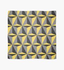 Mustard Yellow and Gray Geometric Scarf