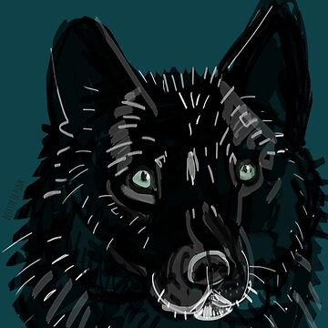 Totem Romeo the wolf by belettelepink