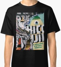 Torn mexican posters wall Classic T-Shirt