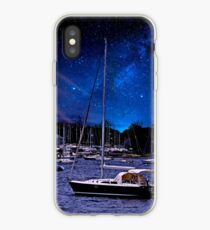 Midnight Sail Boats  iPhone Case