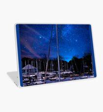 Midnight Sail Boats  Laptop Skin