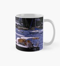 Midnight Sail Boats  Mug