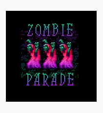 Zombie Parade Photographic Print