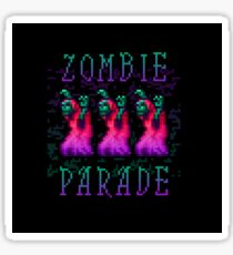 Zombie Parade Sticker