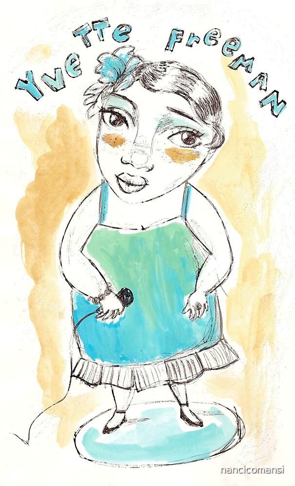 Yvette by nancicomansi