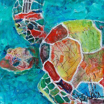 Maui Wowie Turtle by zeartiste