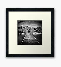 Pier Framed Print
