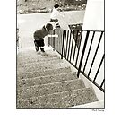 Stairs & Rollerskates by MarkYoung