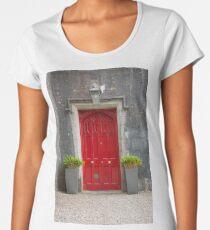 What's behind the red door then? Women's Premium T-Shirt