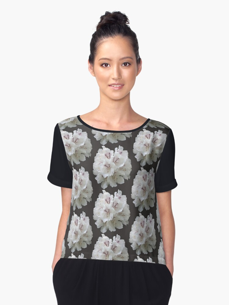 Outburst Women's Chiffon Top Front
