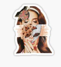 Lana collage Sticker