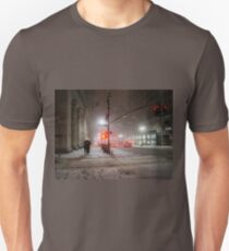 Camiseta unisex Winter Romance - Snowy Night in New York City