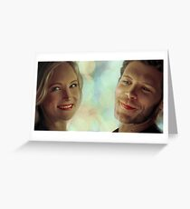 Klaroline Greeting Card