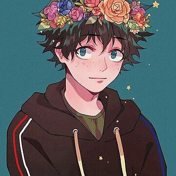 Boku no Hero Academia Flower Midoriya by FrozenFox