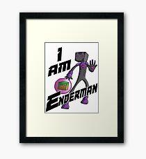 I am Enderman Framed Print