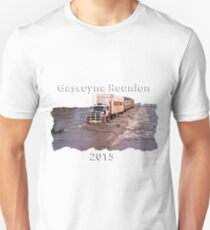 Gascoyne Reunion white writing Unisex T-Shirt