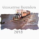 Gascoyne Reunion white writing by JuliaKHarwood