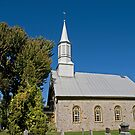 St. Andrew's Presbyterian Church, Williamstown, Ontario. 1812. by Mike Oxley