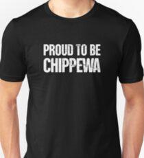 Proud Native American Chippewa Unisex T-Shirt