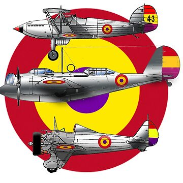 Spanish Republican Air Force by TheOldGeekShop