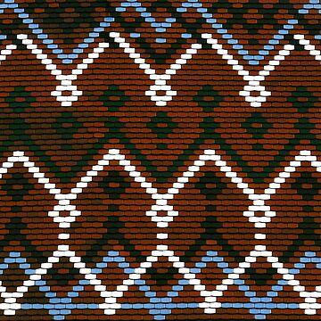 Geometric Pattern Tiles by davesphotoart