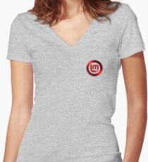 Mint 2 Women's Fitted V-Neck T-Shirt