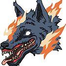 « Loup de feu » par Tirmes