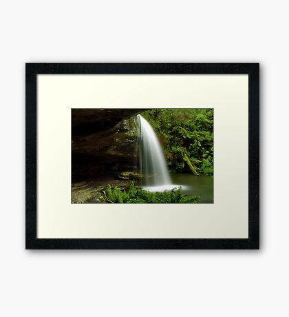 """""""Secluded Paradise"""" Framed Print"""
