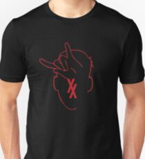 Rap Devil hand sign -MGK Unisex T-Shirt