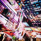 New York City Cyberpunk Bladerunner Night by Vivienne Gucwa