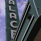 Palace Theater Sign by Robert Armendariz