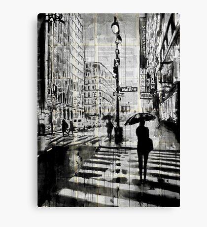 manhattan moment Canvas Print