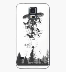 Itachi Crows Destruction Ninja Case/Skin for Samsung Galaxy
