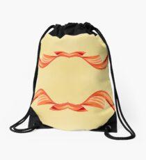 Up and Down Abstract Drawstring Bag