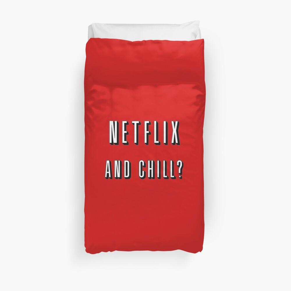 Netflix und chillen? Bettbezug