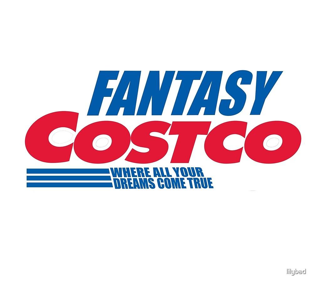 fantasy costco! by lilybad