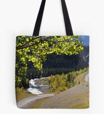 Kananaskis Country Fall Colors  Tote Bag