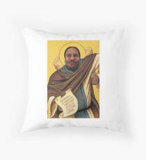 Saint Stanley Throw Pillow