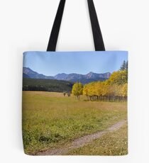 The Golden Trail  Tote Bag