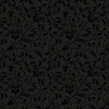 Darkness floral pattern by Philipe3d